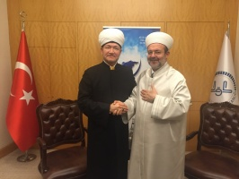 Russian and Turkish Muslims cooperate