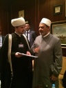 First deputy Chairman of Russia Muftis Council met with the Sheikh of Al-Azhar Ahmed el-Tayeb