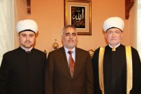 Chairman of Russia Muftis Council met with Omani ambassador Mr Yousef al-Zajali