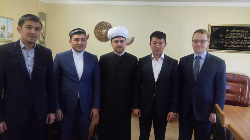 Cooperation between Russian and Kazakh Muslims