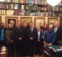 Roundtable for sharing experience with foreign Islamic organizations held in Moscow Cathedral Mosque