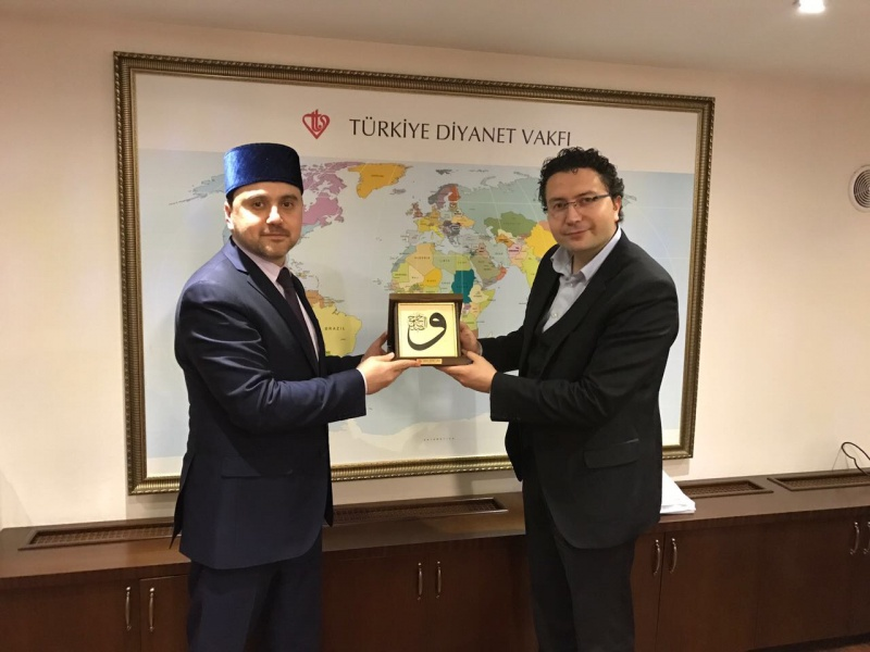 First deputy chairman of RMC discusses vakf issues in Turkey