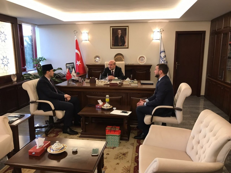 Effective cooperation with Presidency of religious affairs of Turkey