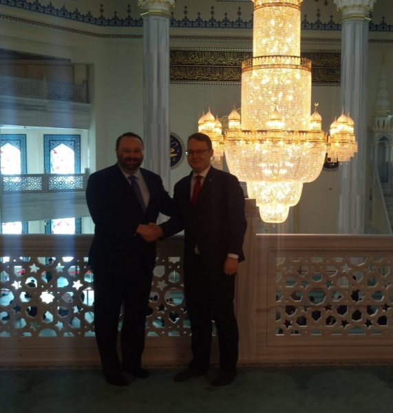 Canadian Ambassador visits Moscow Cathedral Mosque
