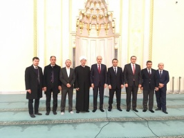 Delegation from Ministry of Culture and Tourism of Turkey visits Moscow Cathedral Mosque