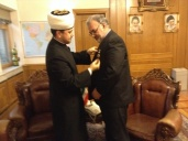 "Extraordinary and plenipotentiary ambassador of Iran awarded with Order of Honour ""Al-Fakhr"""