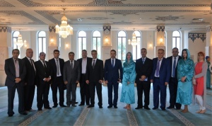 Baath delegation visited Moscow Cathedral Mosque