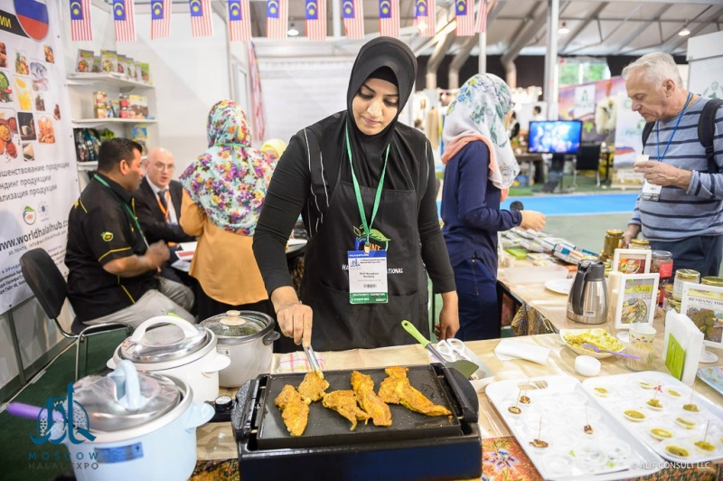 Moscow Halal Expo 2017 Exhibition opens on 16 November