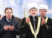 Mufti sheikh Ravil Gaynutdin blessed the construction of mosque in Arkhangelsk