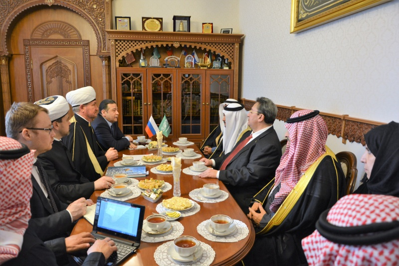 Parliamentary delegation from Saudi Arabia visits Moscow Cathedral Mosque