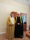 Mufti sheikh Ravil Gaynutdin met with the deputy minister of Awkaf and Islamic Affairs of Kuwait Adel al-Falyah