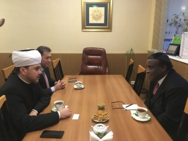 Cooperation between Russian and Sudanese Muslims