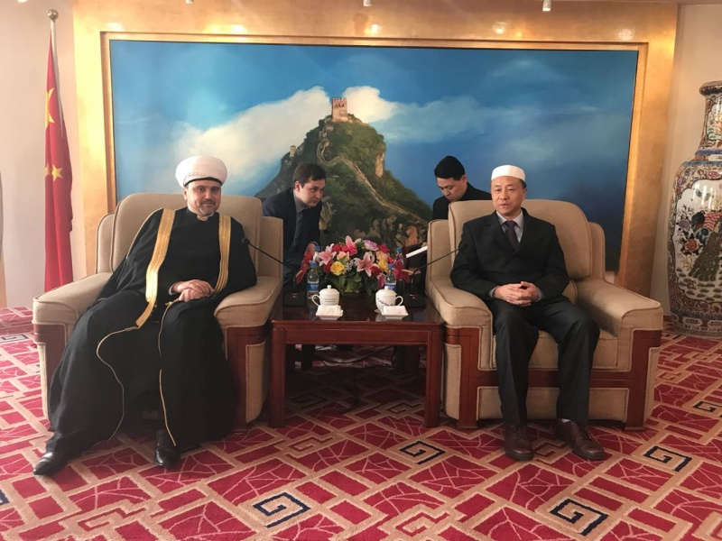 Cooperation with Islamic Association of China