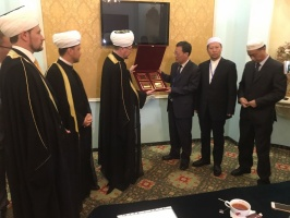 Mufti sheikh Ravil Gaynutdin invites Chinese partners to Muslim Forum