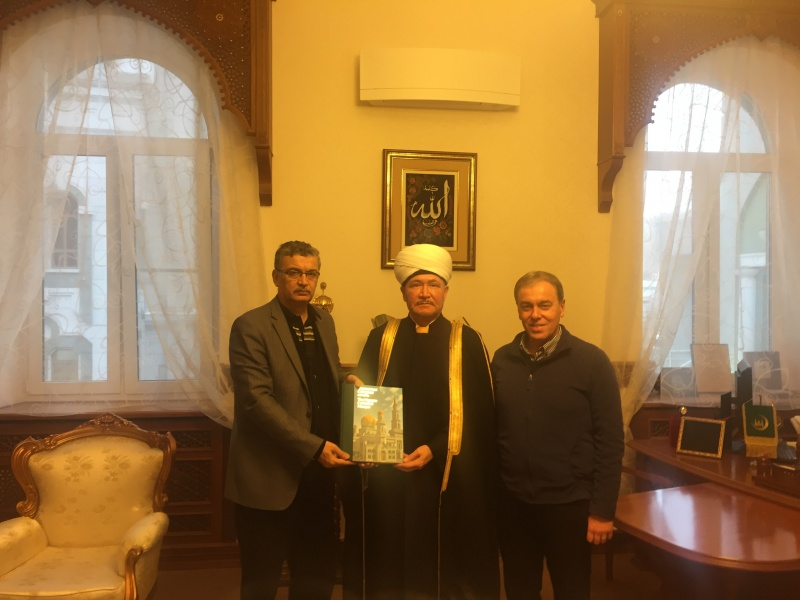 Members of Turkish Parliament visit Russian Muftis Council