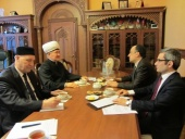 Mufti sheikh Ravil Gaynutdin met with the Turkish ambassador