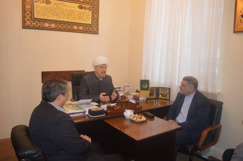 Cooperation with Iranian colleagues