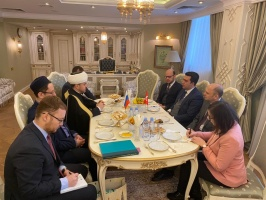 Cooperation with Turkey: YTB delegation visits the Moscow Cathedral Mosque