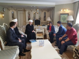 Malaysian delegation visits Moscow Cathedral Mosque